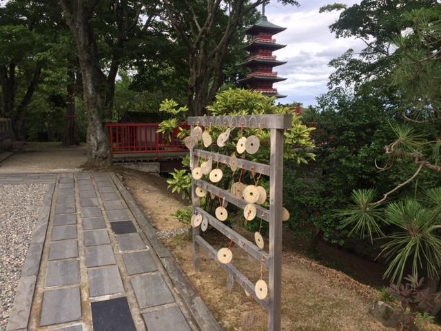 倶利伽羅不動寺の様子1
